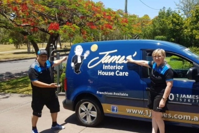 Regional Master Franchisor - James' Interior Home Cleaning - WA (CF135W)