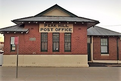 Peak Hill NSW Post Office & Freehold (DB1950)