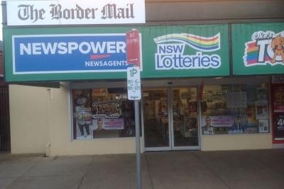 Corowa Newsagency and Tatts (DWN284)