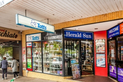 Templestowe Lower Tatts Newsagency (DWN266)